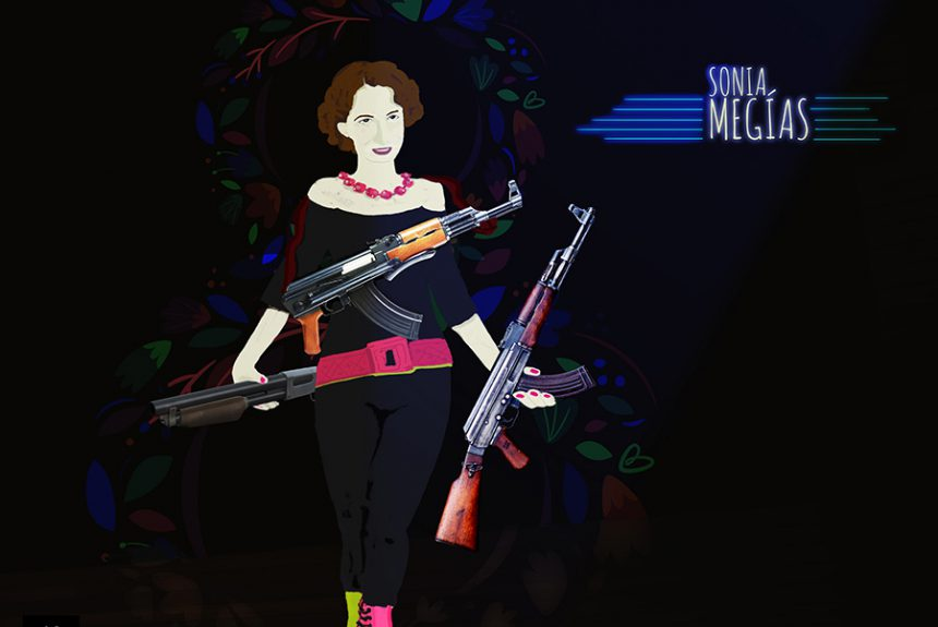 Ilustración de Iban Gaztambide para el artículo sobre Sonia Megias
