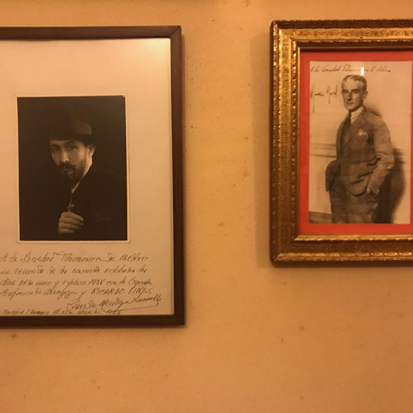 Maurice Ravel – Ricardo Viñes: Menuet spectral