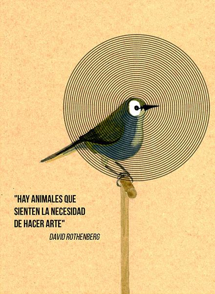 David Rothenberg: «Hay animales que sienten la necesidad de hacer arte»